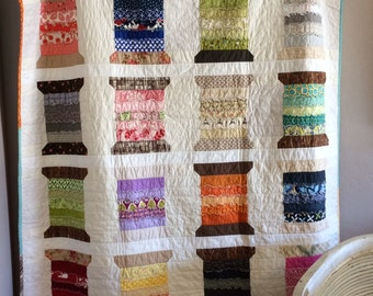 STPQ13 Loose Threads Quilt Pattern (paper)