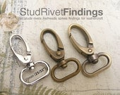4 pcs Trigger Snap Hook For Keychains, Bag, Purse and Craft Making Lobster Swivel Clasps