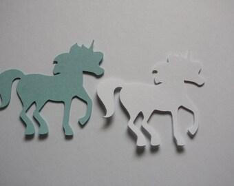 18 x Unicorn Die Cuts