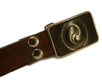 Belt buckle - Yin Yang belt buckle