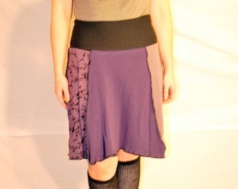 Recycled sweater skirt large   sl0006