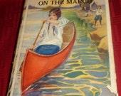 Antique Book Camp Fire Girls on the March 1914 Jane L. Stewart HC/DJ First