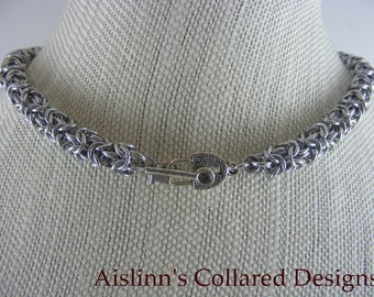 Turkish Round BDSM Gorean Slave Collar Choker Necklace