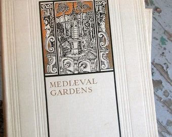 SALE Herb Gardens MEDIAEVAL GARDENS Crisp 1924 2 Vol. First Edition Hundreds of Illus