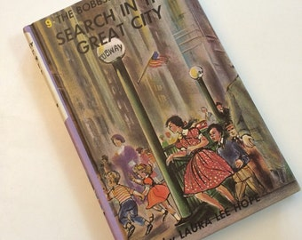 1960's The Bobbsey Twins Search in the Great City by Laura Lee Hope - vintage book