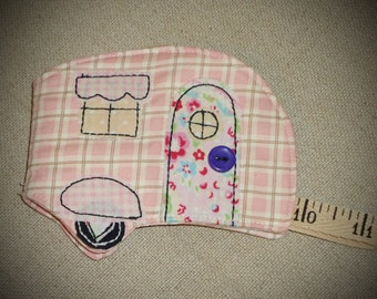 Little Camper sewing needle book