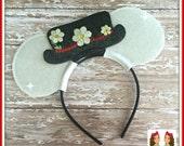 Mary Nanny- CUSTOM Mouse Ears Headband- Twincess Bowtique