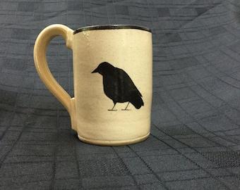 Coffee Mug with Raven