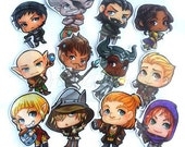 Dragon age inquisition MAGNET set of 12