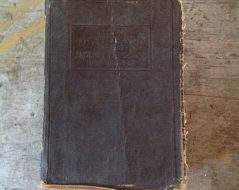 Antique New Dictionary of the English Language 1926 Edition