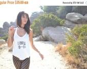 VALENTINES SALE LIBRA /// Boho Lux Divine Clothing /// Vintage Style Soft Tank /// Zodiac Star Sign