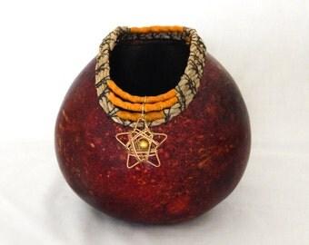 Celestial Starset Gourd Bowl (1535)