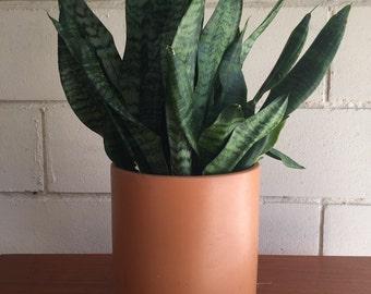 Vintage Orange Gainey Ceramic Planter