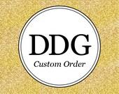 Custom Listing for Sue R.