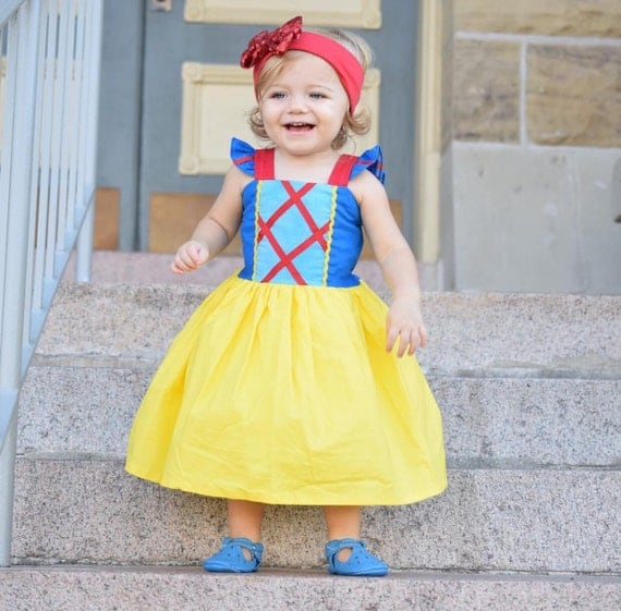 Snow White Inspired Sassy Girl Dress
