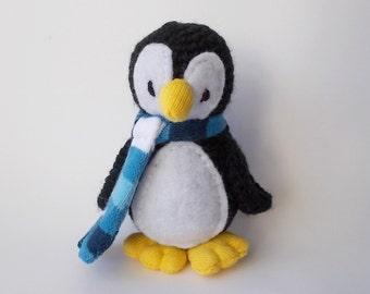 crocheted penguin, Amigurumi penguin, toy penguin, plush penguin, crocheted toy, crocheted animal