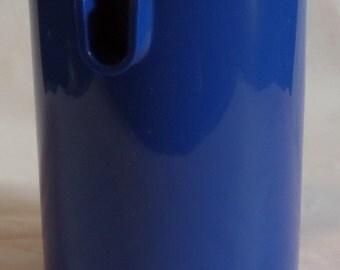 Vintage Blue Plastic Creamer Container by Erik Magnussen for Stelton of Denmark