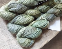 Summer Fields - Hand Dyed Silk Cashmere Lace Yarn