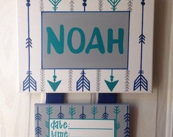 Baby hospital door decorations hospital door by for Baby boy door decoration