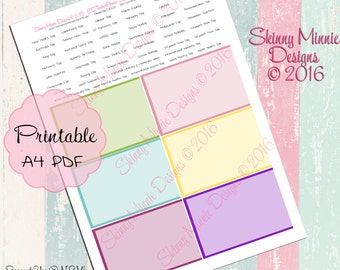 EC Teacher Planner - Holidays and dates to remember stickers #2  (Digital)