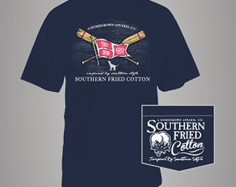 Southern Fried Cotton Paddles & Pride Comfort Colors Tee