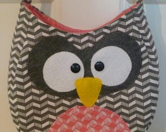 Owl Purse, Bag, Crossbody Bag, Messenger Bag