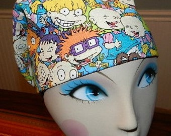 Rugrats  European Style  Surgical Scrub Cap with Toggle