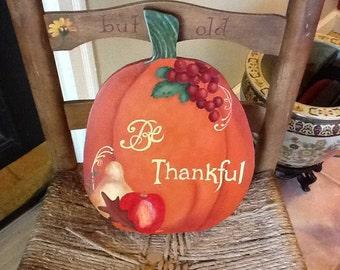 Fall Pumpkin Hanging