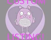 Custom Listing for C. *