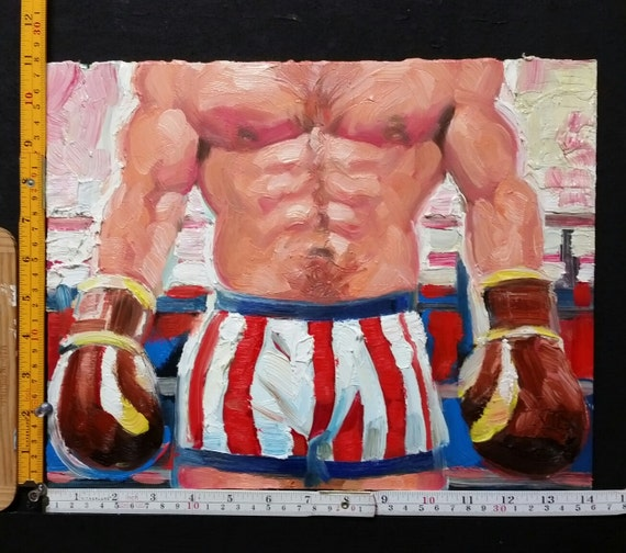I Didn't Know Whether I Wanted to Have Him or Fight Him, oil on canvas panel 11x14 inches Kenney Mencher