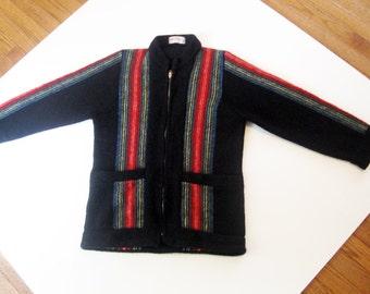 Vintage 60s sweater wool scotland  mens M womens L