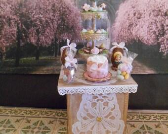 Le présentoir de Pâques