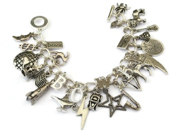 Last 1 David Bowie Charm Bracelet - CHANGES - limited edition Etsy uk last 1 at the moment