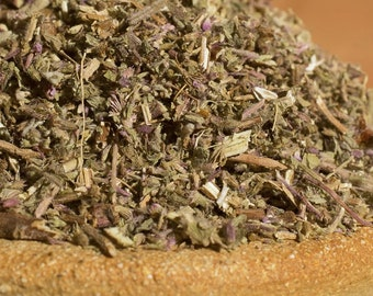 1 ounce Premium Dried Pennyroyal  -- certified organic -- underworld, chthonic, kykeon