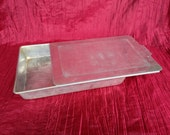 Vintage 13 X 9 Cake Pan with Slider Lid Aluminum 9 X 13 Cake Pan with Lid