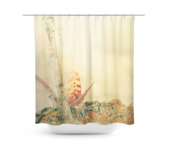 Butterfly Shower Curtain Monarch Shower Curtain Ethereal