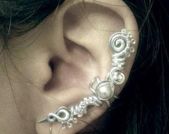 Ice Blade Ear Cuff no piercing required ear wrap