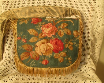 Boho Shabby Chic Gypsy Mori Girl Fringe Cross Body Messenger Bag