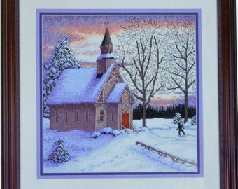 Country Chapel - Cross My Heart - CSB 121 - Counted Cross Stitch Chart