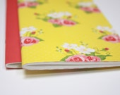 Set of 2 . Flowers Dori Insert Refill Field Notes A6 Travelers Notebook Insert Travel Journal Sketchbook Planner Midori Fauxdori Lists List