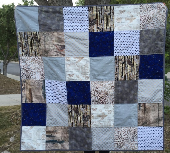 Harry Potter Inspired Patchwork Quilt Adult Reading Lap
