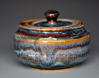 Stoneware Pottery Jar Ceramic Small Jar A