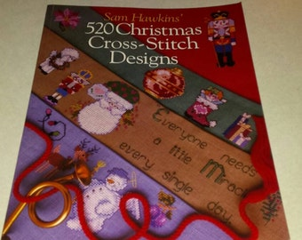 520 Christmas Cross Stitch Designs Book