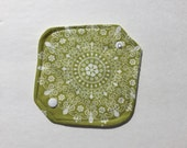 """Cloth Panty Liner All In One Cotton Fleece 6.5"""" Lace Doily"""