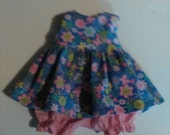 "Baby Alive  And Waldorf Doll Clothes Adorable Dress 10"" 12"" Or 15"" Spring Butterfly"