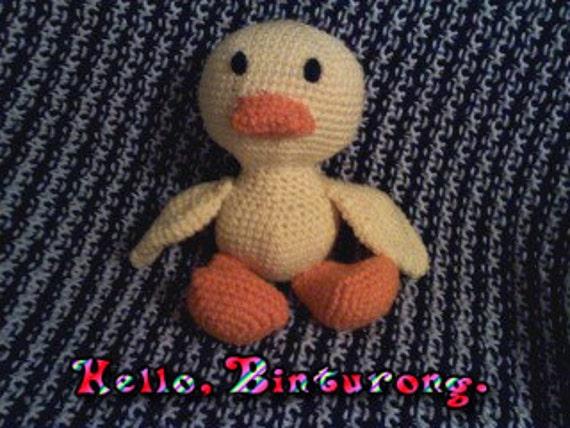 Amigurumi Baby Duck : Baby Duck duck amigurumi crochet duck crochet amigurumi