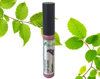 Botanical Lip Gloss - All Natural - Organic Ingredients - Toxin Free - No Synthetic Flavors - Lead Free - Vegan - Cruetly Free