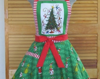 The Grinch Inspired Apron - Limited Edition