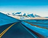 """Road Trip (Willow Creek Summit) 8""""x10"""" giclee print"""