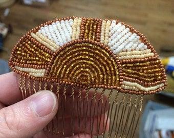 Golden Sun Comb
